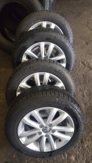 Vw Polo vivo mags 14inch and Polo 6 15inch mags with tyres