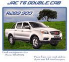 JAC Double Cab Bakkie