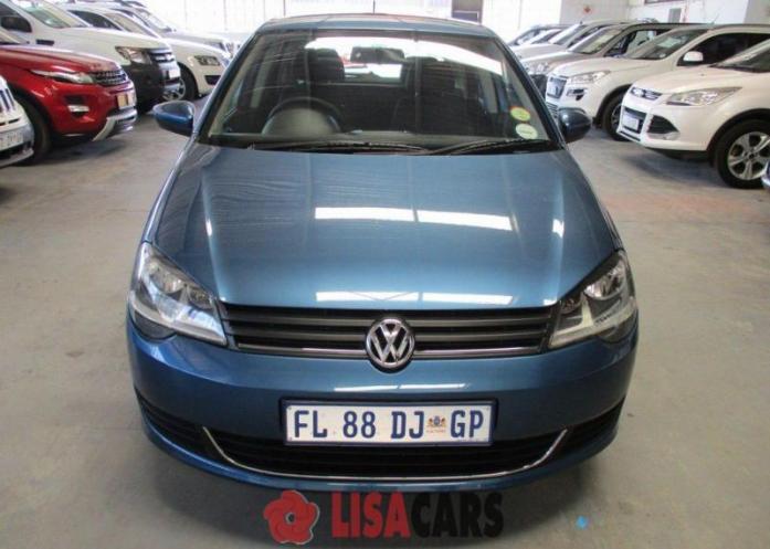 VW POLO VIVO GP 1.4 TRENDLINE 5DR (BLUE) 2016