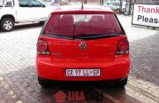 VW POLO VIVO 1.6 TRENDLINE 5DR (RED) 2013