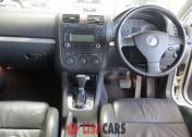 VW JETTA 2.0T FSI SPORTLINE DSG(white )
