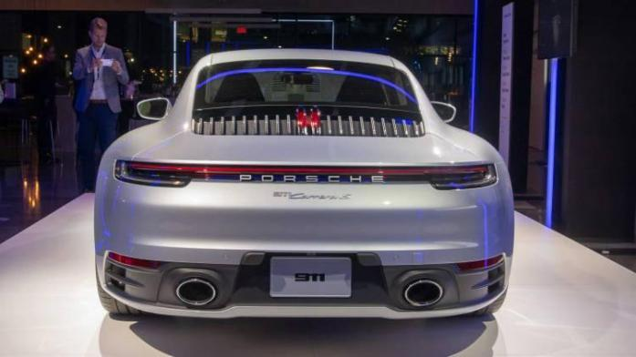New Porsche 911 is here