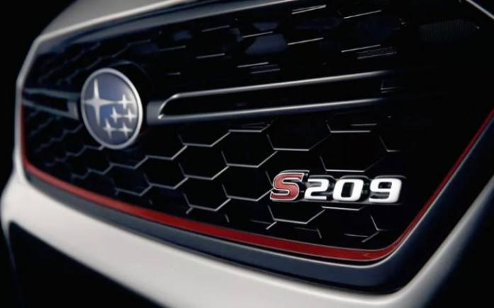 Subaru confirms STI S209 for Detroit Auto Show