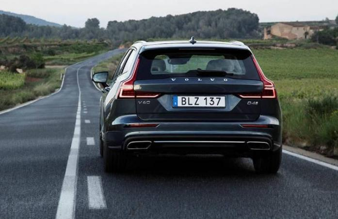 Nobody can build an estate car like Volvo can Volvo V60 2018