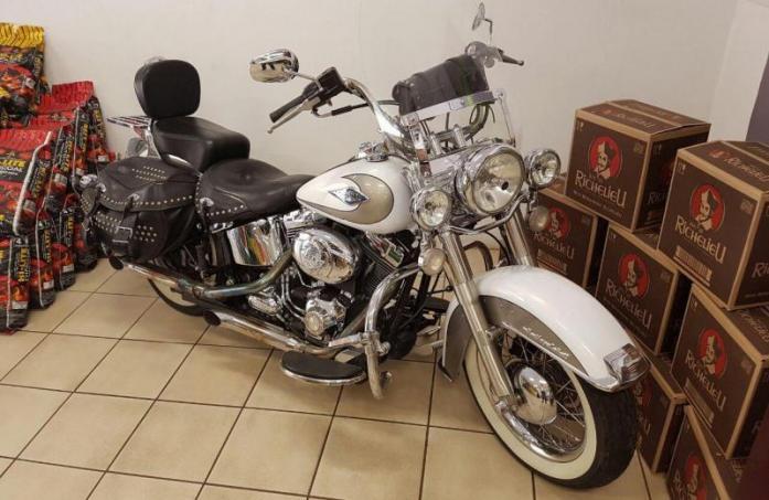 Harley Davidson Dyna Wide Glide Delux