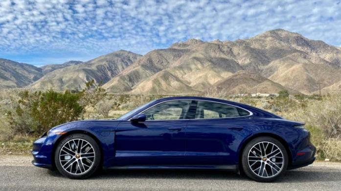 2020 Porsche Taycan crushes its EPA range