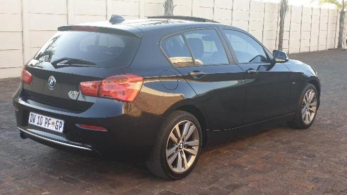 2015 BMW 1 Series 118I SPORT LINE 5DR A/T