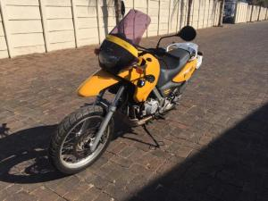 2001 BMW F650 GS - AWESOME COMMUTER
